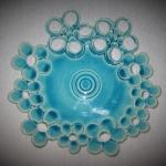 Virágos tányér